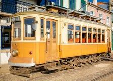 Old Porto Streetcar Side Stock Photo
