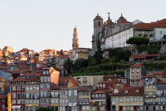 Old Porto at sunrise Stock Images