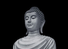 Old portrait buddha statue Royalty Free Stock Photo