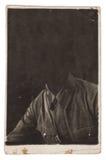 Old portrait photo Stock Image