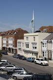 Old Portsmouth and Spinnaker Tower Stock Photos