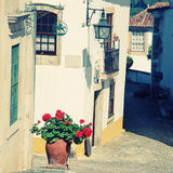 Old portugal street Royalty Free Stock Photos