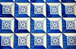 Old portugese ceramic tile Stock Photo