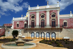 Old Portuguese palace Royalty Free Stock Images