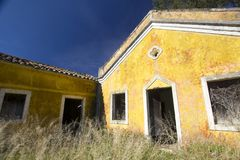 Old Portuguese ruin Stock Photography