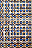 Old Portuguese tiles Royalty Free Stock Photography