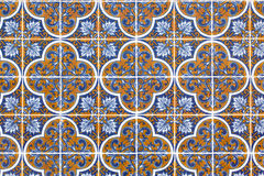 Old Portuguese Tiles Stock Photography