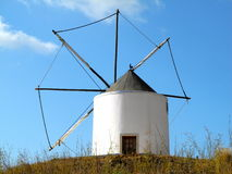 Old Portuguese Windmill Stock Image
