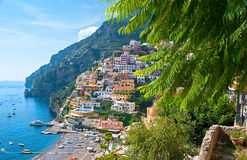 The old Positano Stock Photo
