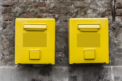 Old post boxes Stock Photography