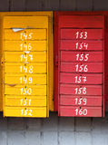 Old post boxes Royalty Free Stock Photos