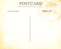 Old post card Royalty Free Stock Photos