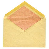 Old post envelope Royalty Free Stock Image