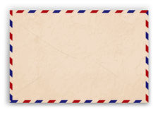 Old post envelope Royalty Free Stock Photography