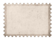 Old post mark frame. Blank mail letter Royalty Free Stock Image