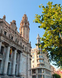 Old Post Office building, in Barcelona Stock Photo