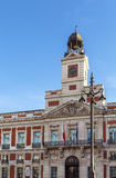 Old post office building, Madrid Royalty Free Stock Photo