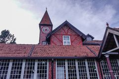 Old post office building in Nuwara Eliya royalty free stock photography