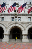 Old Post Office building, Washington DC USA stock photography