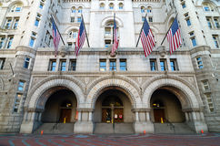 Old Post Office building, Washington DC USA Stock Images