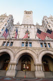 Old Post Office building, Washington DC USA stock image