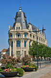 Old post office of Chartres in Eure et Loir Stock Image