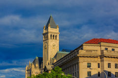 Old Post Office and Clock Tower Royalty Free Stock Photos