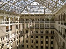 Old Post Office-Interior Royalty Free Stock Photos