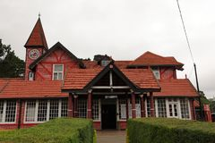 Old post office of Nuwara Eliya in Sri Lanka. The old post office of Nuwara Eliya in Sri Lanka Royalty Free Stock Image
