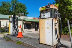 Old post office and petrol station. In Sassafras, Victoria, Australia. Sassafras is located at an altitude of approximately 500 metres, a few kilometres south Royalty Free Stock Image