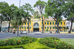 Old Post Office, Saigon,Vietnam Royalty Free Stock Photos