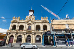 Old post office on Smith Street, Collingwood. The old Australia Post office in Smith Street, Collingwood, a working class inner city suburb of Melbourne stock photography
