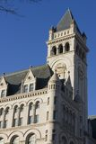 Old post office tower Royalty Free Stock Photos
