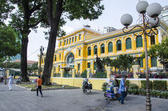 Old Post Office, Vietnam Stock Photos