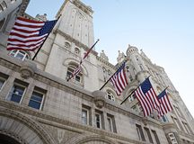 The Old Post Office Washington, D.C,. The Historic Old Post Office building; located at 1100 Pennsylvania Avenue. The structure was completed in 1899. It was stock photo