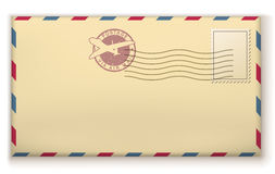 Old postage envelope Royalty Free Stock Photo