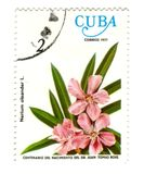 Old Postage Stamp From Cuba Royalty Free Stock Images
