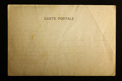 Old postal card Stock Image