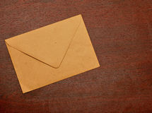 Old postal envelope Royalty Free Stock Images