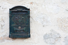 Old Postbox. An old postbox in Sepulveda, Segovia Stock Image