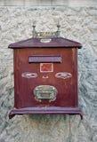 Old postbox Stock Photo