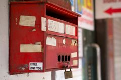 Old postbox Royalty Free Stock Images