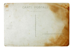 Old Postcard Stock Photography