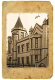 Old postcard. Stock Image