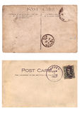 Old postcard Stock Images