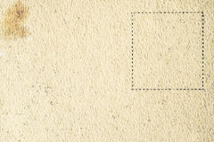 Old postcard background horizontal Royalty Free Stock Photography