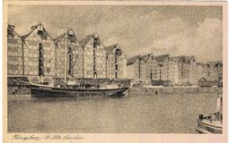 Old postcard between 1905-1920. Königsberg Royalty Free Stock Photos