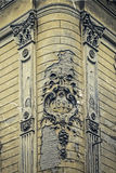 Old postcard of one historical building.Timisoara, Romania 21 Stock Image
