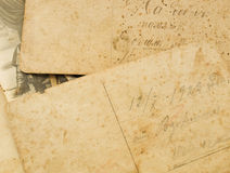 Old postcards Stock Photo