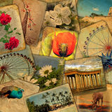 Old postcards Royalty Free Stock Photo